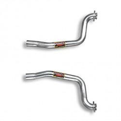Kit tube de liaison Droite + Gauche Supersprint Ferrari 575M Maranello V12 (515ch), V12 (540ch) Superamerica 02-