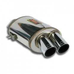 Silencieux arrière Droite OO 76. Supersprint Ferrari 575M Maranello V12 (515ch), V12 (540ch) Superamerica 02-
