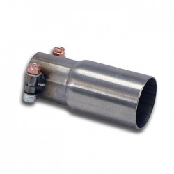 pipe pour silencieux central d'origine Supersprint FIAT GRANDE PUNTO (199) 1.4i T-jet (120ch) 07-09