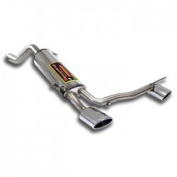 Silencieux arrière Droite + Gauche 145x95 Supersprint FIAT GRANDE PUNTO EVO 1.3 M-jet (75-95ch) 2010-