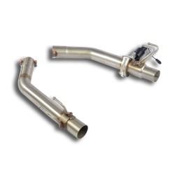 Tubes de sortie Droite + Gauche avec valve Supersprint Honda CIVIC 2015-(FK2) 2.0i Turbo TYPE-R 310ch 2015-