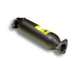 Silencieux avant (remplace catalyseur) Supersprint Honda CRX 88→91 (ED9 - EE8) ED9 1.6i 16V (124-130ch), EE8 1.6i 16V VTEC 150ch 88→