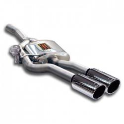 Silencieux arrière Gauche OO100 avec valve Supersprint Jaguar XKR 06→ Coupé-Cabrio 4.2i V8 Supercharged 06→