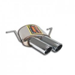 Silencieux arrière Gauche OO 90. Supersprint Maserati Coupé/Spyder Gransport 4.2i V8 ( 400ch ) 2005-2007