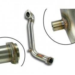 Tube kit pour turbo- (Remplace catalyseur) Supersprint MINI R57 Cabriolet Cooper S John Cooper Works 211ch 2012-(Ø65mm)