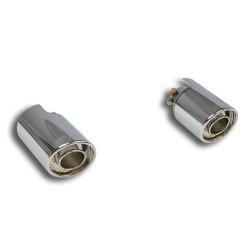 "Kit sorties ""Backfire"" Droite O100-GaucheO100 Supersprint MINI R61 Paceman Cooper S 1.6i Turbo, inclus ALL4 2013→"