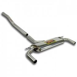 Silencieux arrière Droite + Gauche Supersprint MINI R61 Paceman JCW ALL4 1.6i Turbo 218ch 2013-