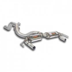 "Silencieux arrière ""Racing"" Droite + Gauche Supersprint Opel CORSA D 07- GSi 1.6i Turbo 150ch 07-"