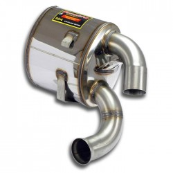 Silencieux arrière Droit Supersprint PORSCHE 911 (993) 3.6i Turbo 95-