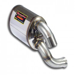 Silencieux arrière Gauche Supersprint PORSCHE 911 (993) 3.6i Turbo 95→