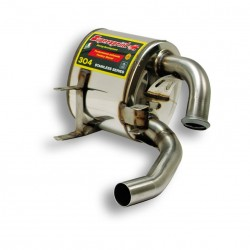 "Silencieux arrière Droit "" Racing "" Supersprint PORSCHE 911 (996) Carrera-Carrera 4 3.4-3.6 96-04"
