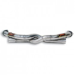 Tube avant kit Droite + Gauche-suppression de catalyseur Supersprint PORSCHE 911 (997.1) Carrera 3.6i (325ch) 04→08