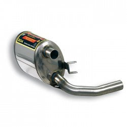 Silencieux arrière gauche (homologué TÜV) Supersprint PORSCHE 911 (997.1) Carrera 3.6i (325ch) 04→08
