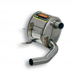 Silencieux arrière droit (homologué TÜV) Supersprint PORSCHE 911 (997.1) Carrera 3.6i (325ch) 04→08