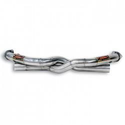 Tube avant kit Droite + Gauche-suppression de catalyseur Supersprint PORSCHE 911 (997.1) Carrera S-4S 3.8i (355ch) 04-08