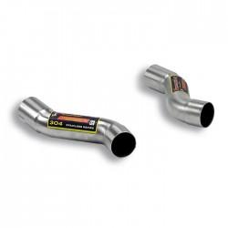 Tubes de sortie Droite + Gauche pour embouts d'origine Supersprint PORSCHE 911 (997.2) Carrera 3.6i 345ch 09-