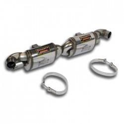 """Silencieux arrière Droite + Gauche """"Sport"""" Supersprint PORSCHE 911 (997.2) Turbo GT2 RS 3.6 620ch 2010-"""