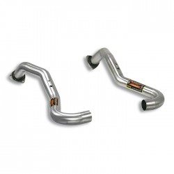 Tubes avant Droite + Gauche (suppression cata) Supersprint PORSCHE CAYMAN (987) 2.9 265ch 09-12