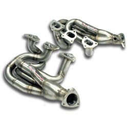 Collecteur Droite + Gauche (suppression pre-cata) Supersprint PORSCHE CAYMAN (987) S-R 3.4i 320-330ch 2009-2012