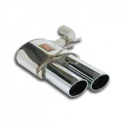 Silencieux arrière Gauche OO100 Supersprint PORSCHE PANAMERA (970) 3.0 Diesel 250-300ch 10-14