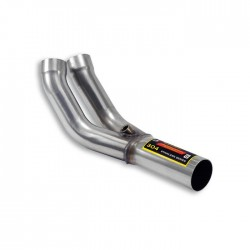 Y-Pipe pour collecteur d'origine-(supprime le pre-catalyseur)-A souder Supersprint Renault CLIO 3 2.0i RS 200ch 2010-