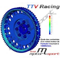 Volant moteur TTV Racing Allégé Nissan Pulsar GTiR | Poids 2.6kg