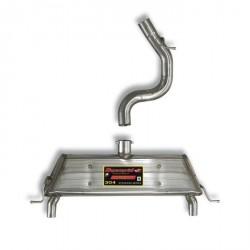 Silencieux arrière Droite - Gauche Supersprint Seat ALTEA XL -Freetrack 4x4 2.0 TDI 170ch 07-