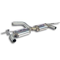 """Silencieux arrière """"Racing"""" doitre - gauche Supersprint Seat ALTEA XL 2.0 TFSi 200-211ch 06-"""