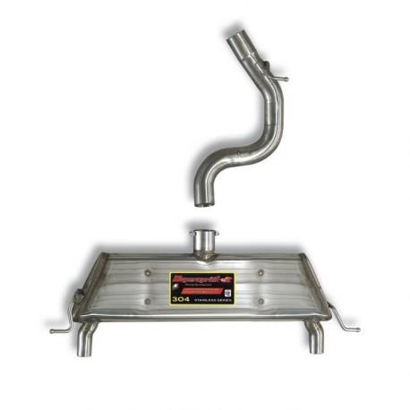 Silencieux arrière Droite - Gauche Supersprint Skoda YETI 4x4 2.0 TDI 110-140-170ch 2010-