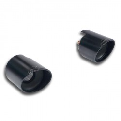 "Sortie kit Droite - Gauche ""noir"" O 120 Supersprint Subaru BRZ 2.0i 200ch 2012→"