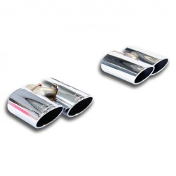 Kit sorties ovales Droite + Gauche 90x70 Supersprint Volkswagen GOLF VII 1.2 TSI 86-105-110ch 2012-