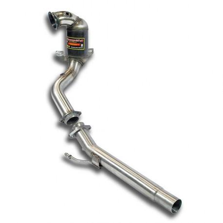 Downpipe + Catalyseur métallique Supersprint Volkswagen GOLF VII GT ACT 1.4 TSI 140-150ch 2012-