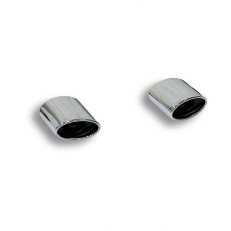 Kit sorties ovales Droite + Gauche 145 x 95. Supersprint Volkswagen GOLF VII GTD 2.0 184ch 2012-