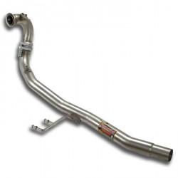 downpipe - Remplace filtre à particules FAP Supersprint Volkswagen POLO 6R 2009-2014 1.6 TDI 3p.-5p. 75-90-105ch 2009-2014