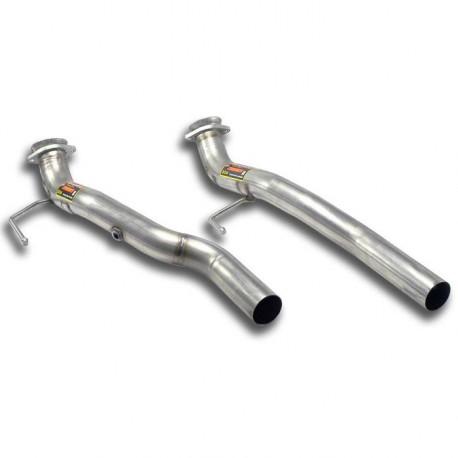 Tubes avant kit Droite - Gauche - (remplace catalyseur) Supersprint Volkswagen TOUAREG 7L -2010 6.0i W12 05-09
