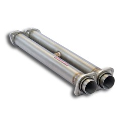 """Tube centrale Supersprint Droite - Gauche avec """"H-Pipe"""". Remplace Silencieux central d'origine Ferrari 456 GT-GTA V12 92→03"""