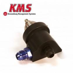 Régulateur de pression d'essence réglable 0-5bar | 2 voies DASH 6| KMS Van Kronenburg