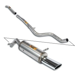 CAT-BACK Inox Supersprint Peugeot 207 CC 1.6i 16v (120ch) 07-