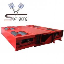 Banc de de puissance voiture 4x4 2000ch freiné Soft-Engine Supercar 1000 Mono rouleau