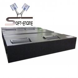 Banc de de puissance freiné voiture 1500ch Soft-Engine Braker 800 4x4 Mono rouleau