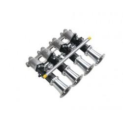 Kit admission 4 papillons moteur XU9J4 (Mi16) Jenvey avec 4 cornets