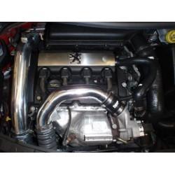 Kit durites aluminium Turbo + coupleurs silicone Forge Motorsport pour Peugeot 207 GTI / Citroën DS3 - FMHP207