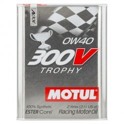 Motul 300V POWER 5W40 Huile Moteur 100% Synthèse | Bidon 2L