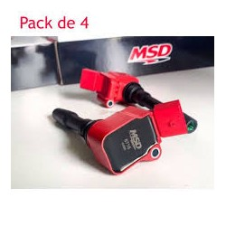 4 Bobines allumage MSD type RS3 pour Golf 7R/GTI, Audi S3