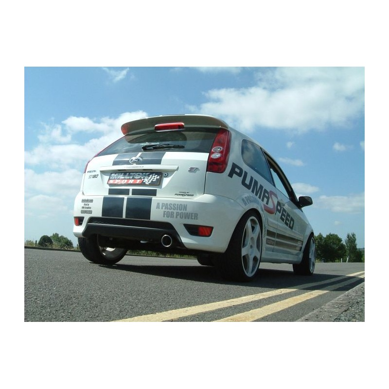 milltek ford fiesta mk6 st 150 street motorsport. Black Bedroom Furniture Sets. Home Design Ideas