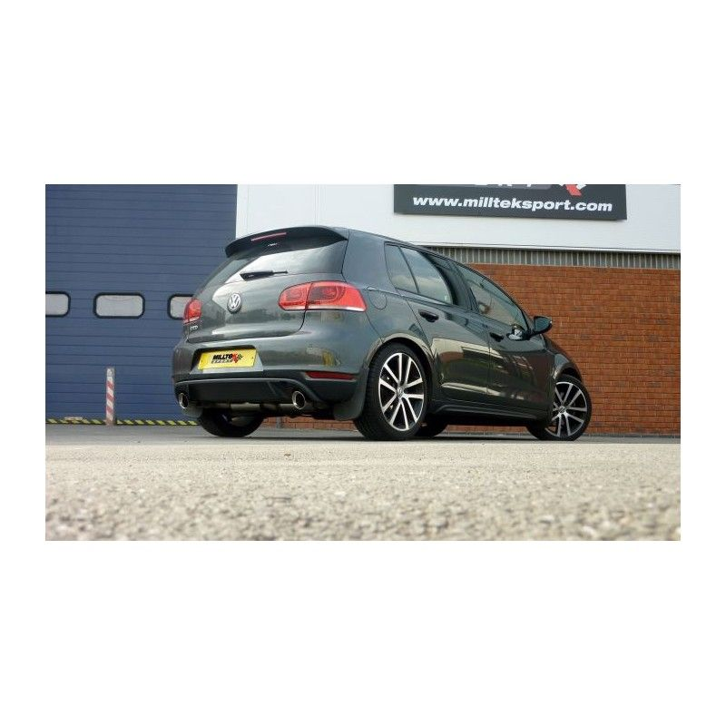 milltek vw golf 6 gtd 2 0 tdi 170cv street motorsport. Black Bedroom Furniture Sets. Home Design Ideas