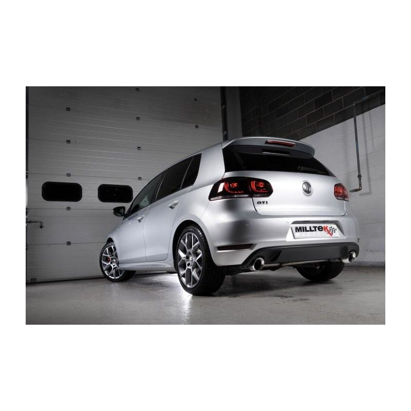 milltek vw golf 6 gti edition 35 street motorsport. Black Bedroom Furniture Sets. Home Design Ideas