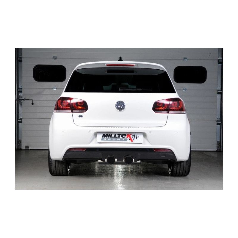 milltek vw golf 6 r 2 0 tsi 270cv street motorsport. Black Bedroom Furniture Sets. Home Design Ideas