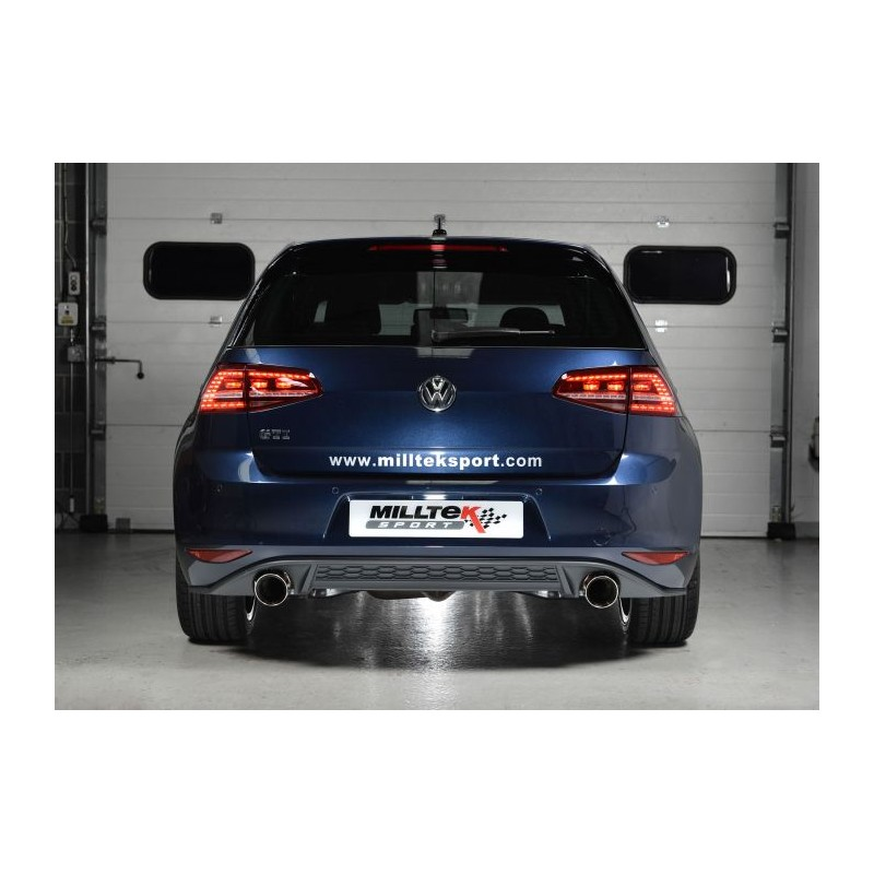 milltek golf 7 gti inclus gti performance pack street motorsport. Black Bedroom Furniture Sets. Home Design Ideas