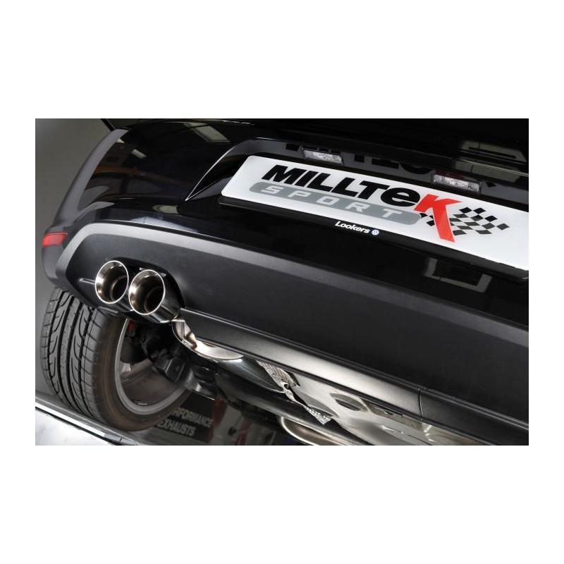 Milltek VW Polo GTi 1.4 TSI 180CV 7spd DSG